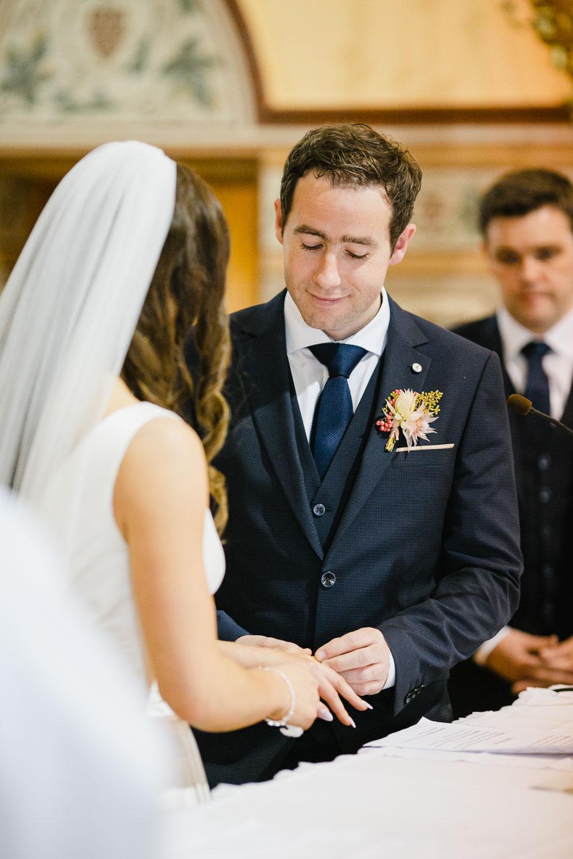 Ring Exchange Vows Ireland Photo