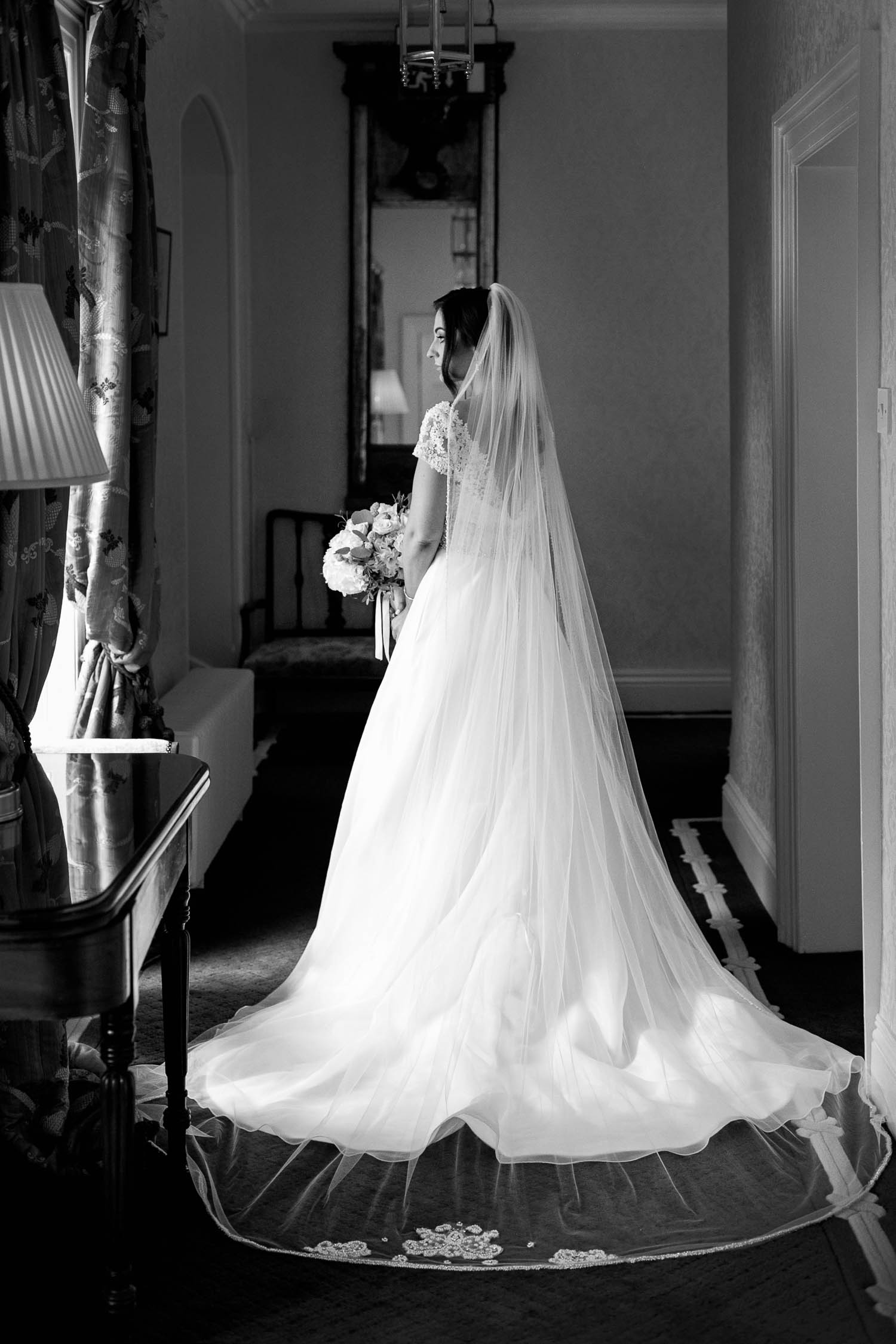 Bridal Portrait at Tankardstown House