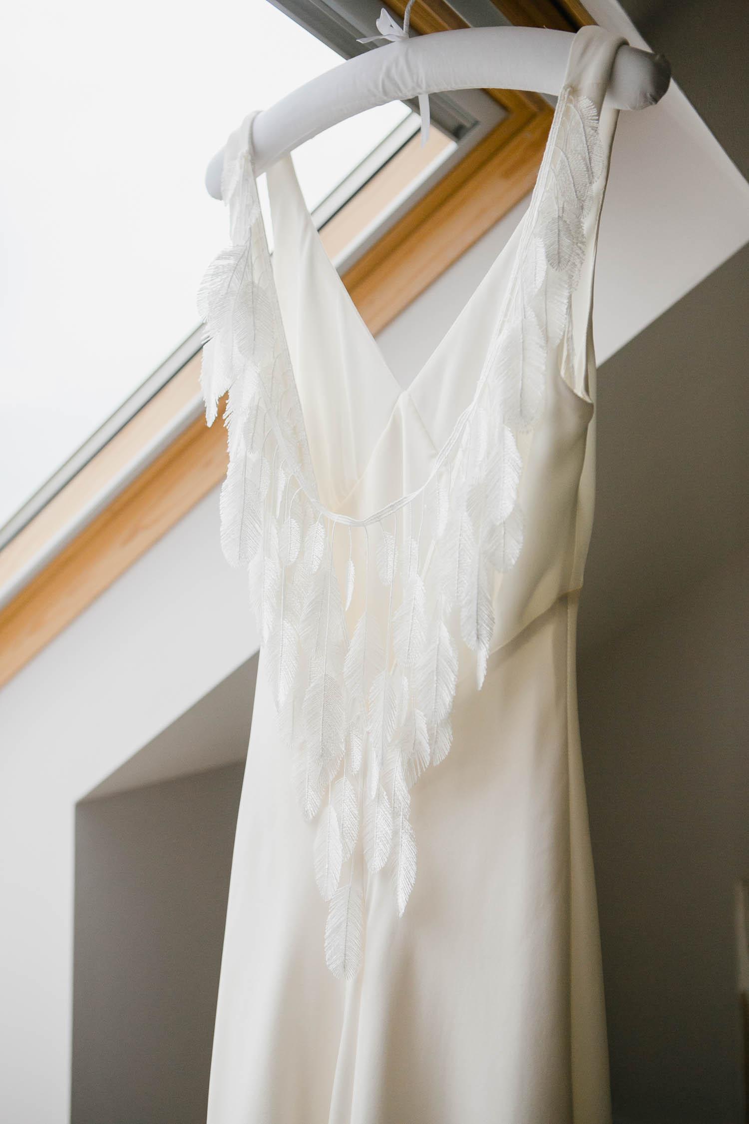 Halfpenny London Wedding Dress Back Detail