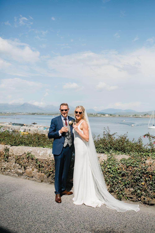 Elegant Wedding Portrait Rosleague Manor, Galway