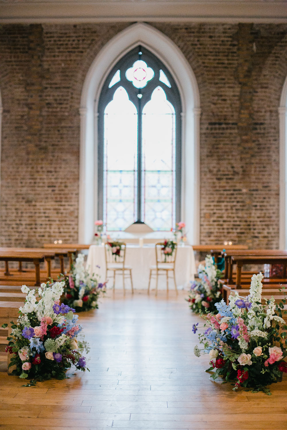 Smock Alley Theatre Wedding Flowers