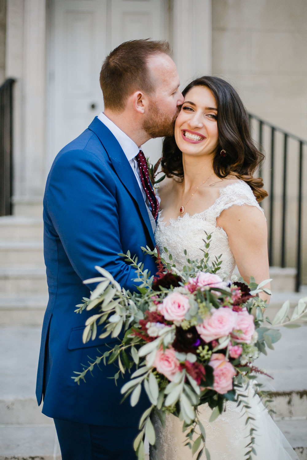 Natural Wedding Photography Bride And Groom Portrait