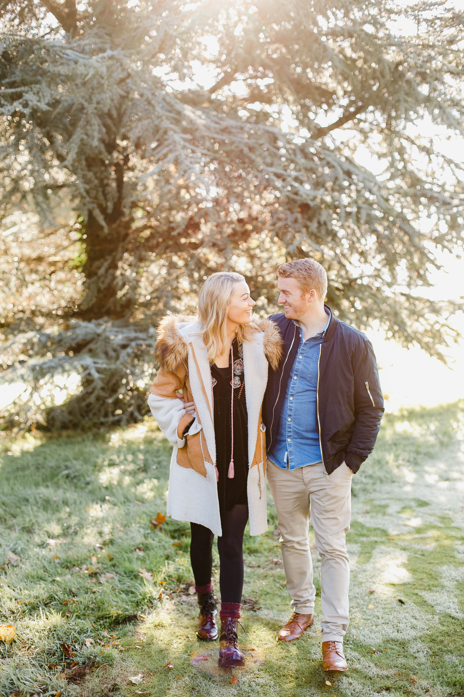 Fall Engagement Photoshoot In Ireland