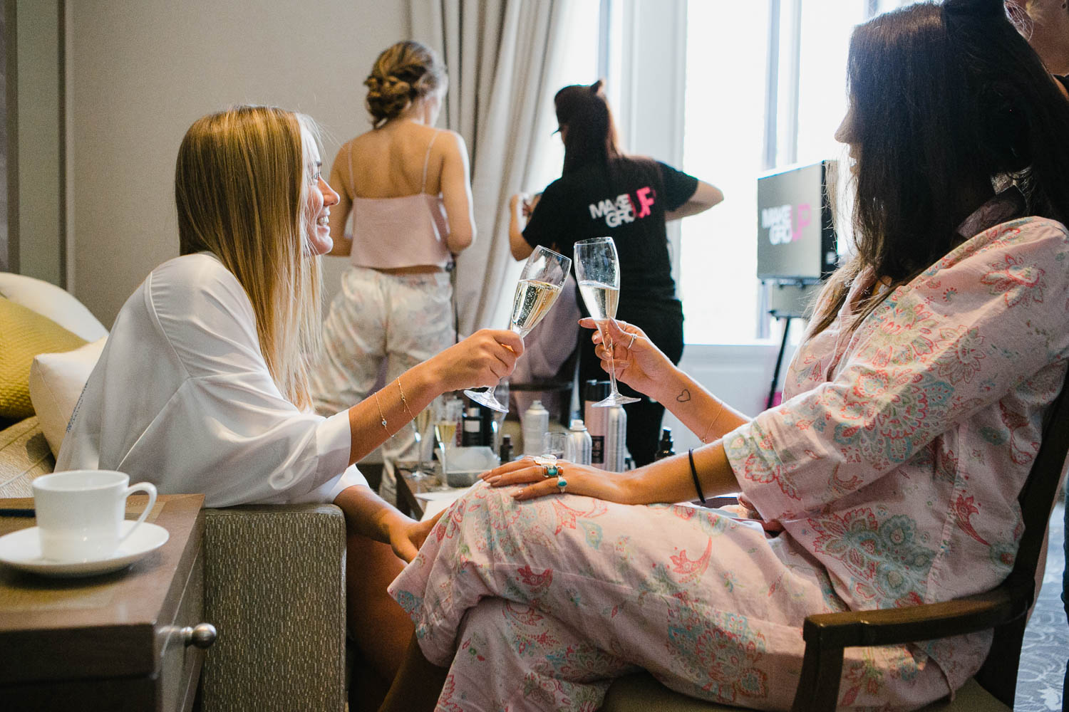 Bridal Preparations Morning Destination Wedding In Vienna