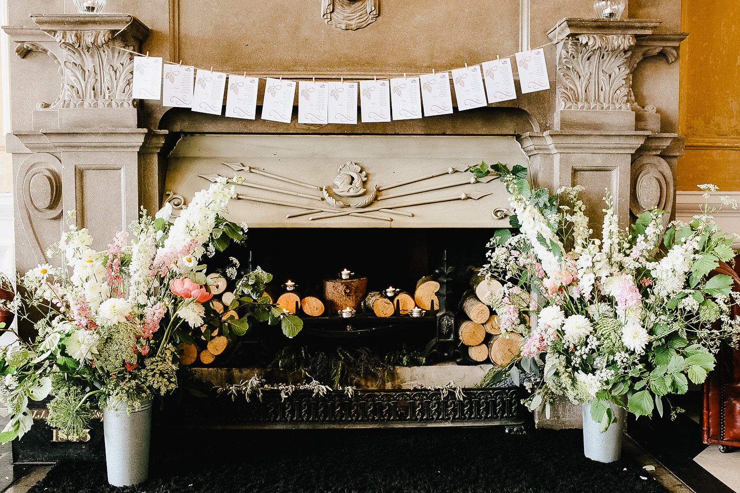 Bellinter House Wedding Flower Decor