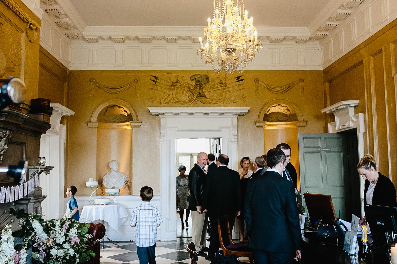 Main Reception Area in Bellinter House in Meath