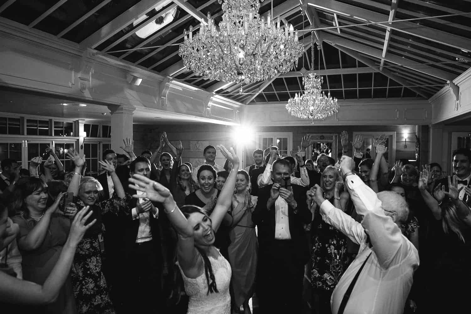 Evening Wedding Party in Tankardstown House