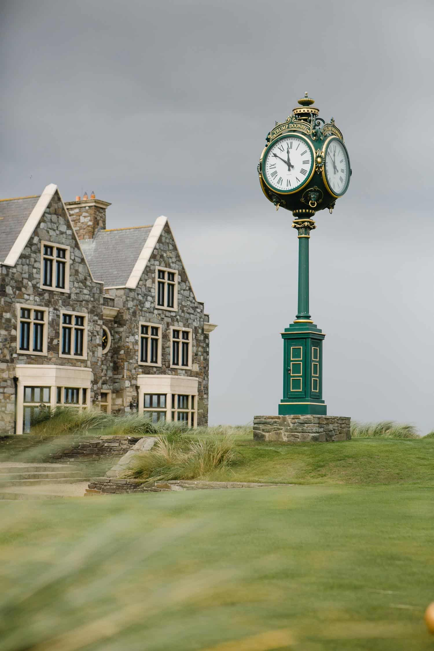 The Clock At First Tee At Links Golf Course Trump Doonbeg