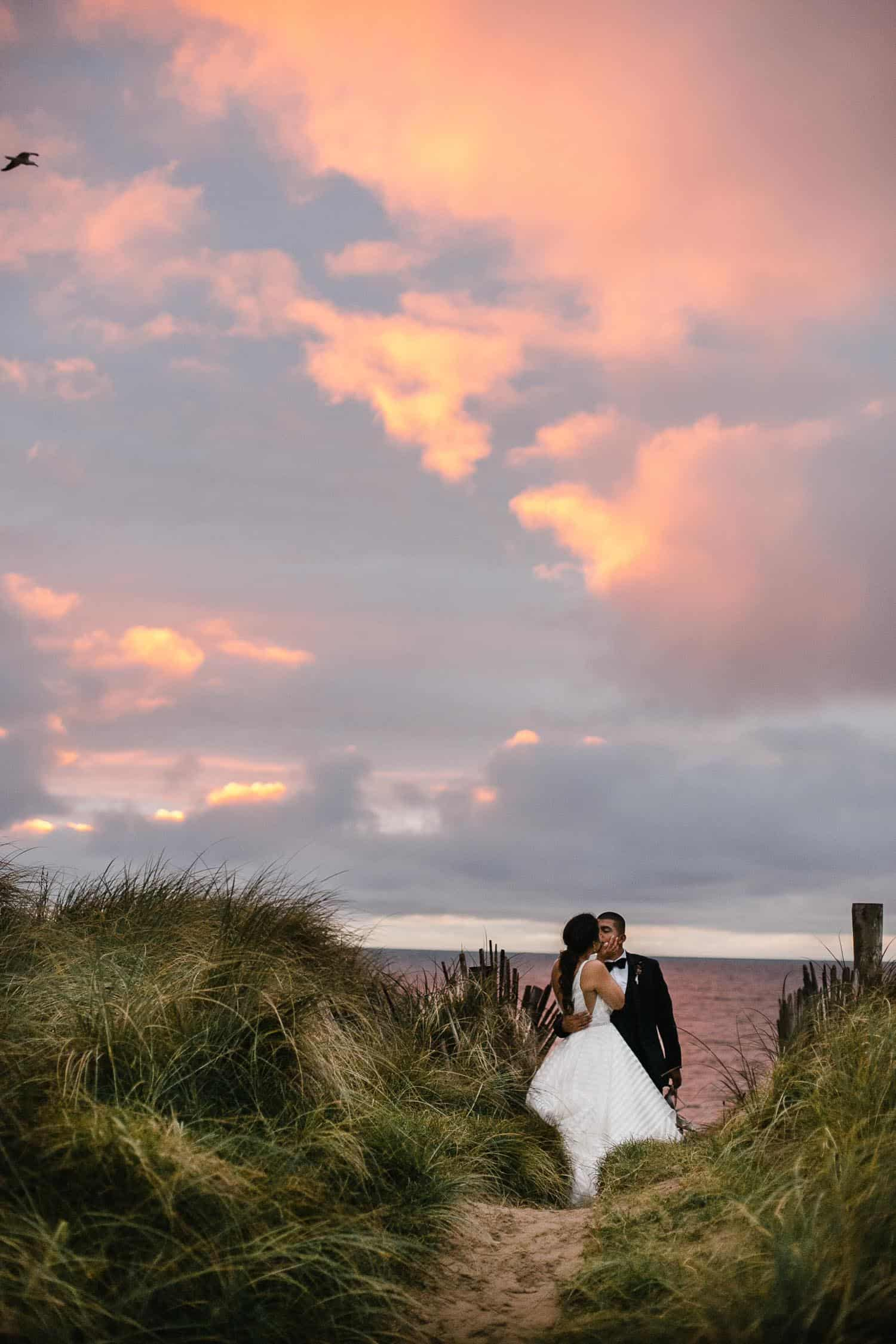 Couple Sunset Photo At Trump Golf Links Doonbeg