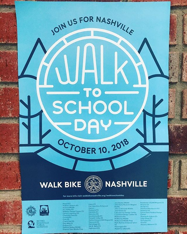 Walk to School Day is coming up! We'll meet at our neighbors' parking lot @glendaleumc at 7am, be there at 7:15 at latest! Sign up to bring breakfast - link in profile!