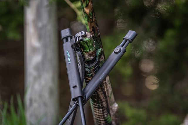 New toys!  #swaggerbipods #shootwithswagger #struttinbuck #iamsportsman #hunterslife