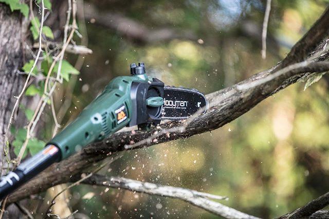 It's a great day to do a little trimming!  #struttinbuck #iamsportsman #hunterslife #seasonprep #hunter #hooymansaws