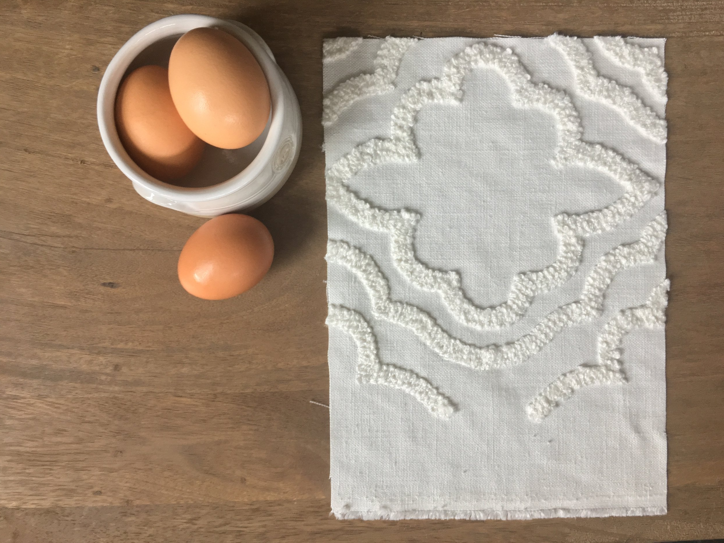 farmhouse linen chenille