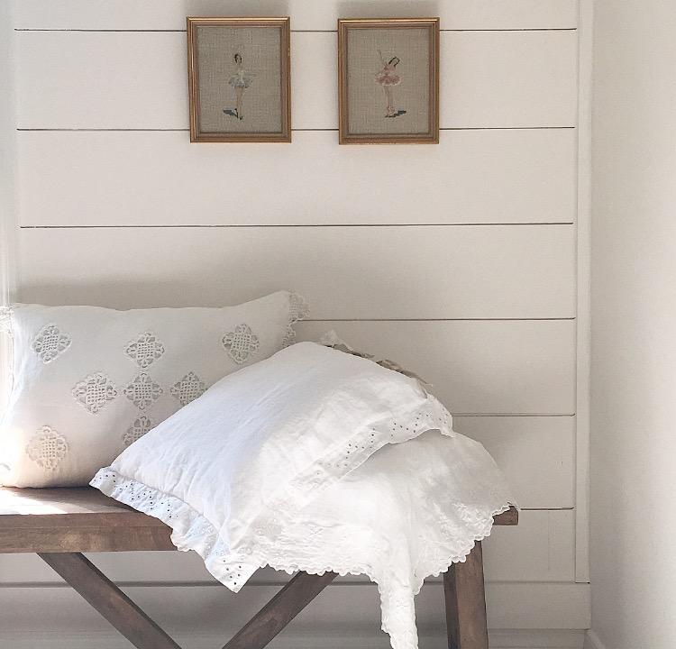 The Linen Rabbit - Mary Ann Pillow