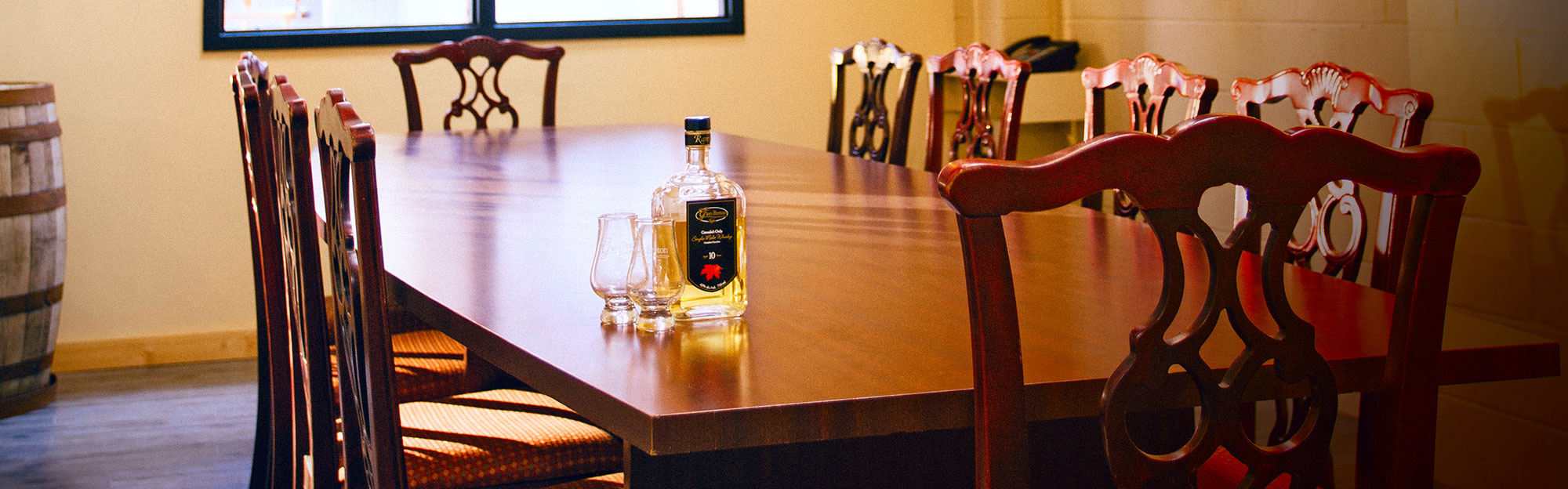 Bring your colleagues. Whisky is a social drink, after all.