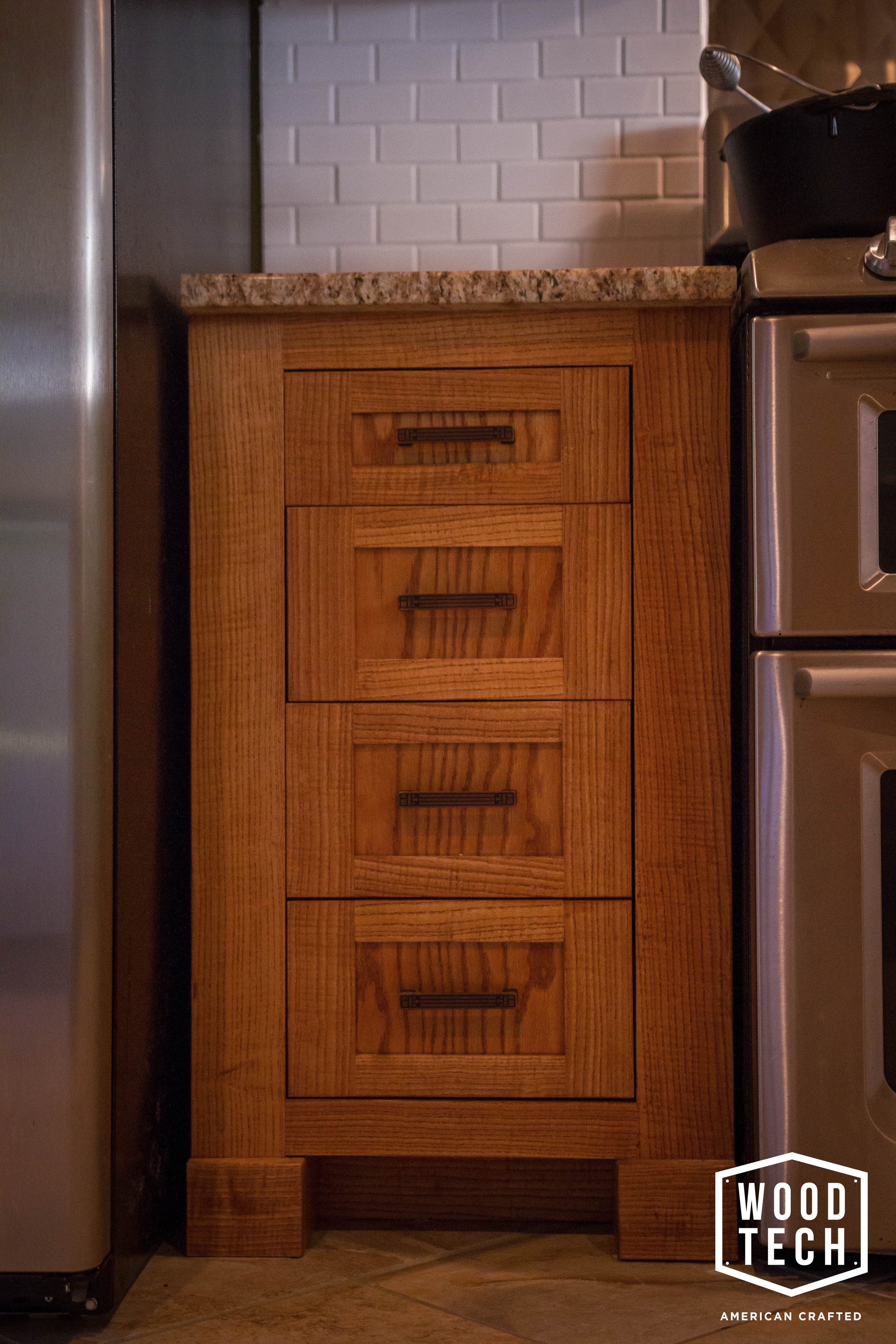 Custom Wood Cabinet Drawers