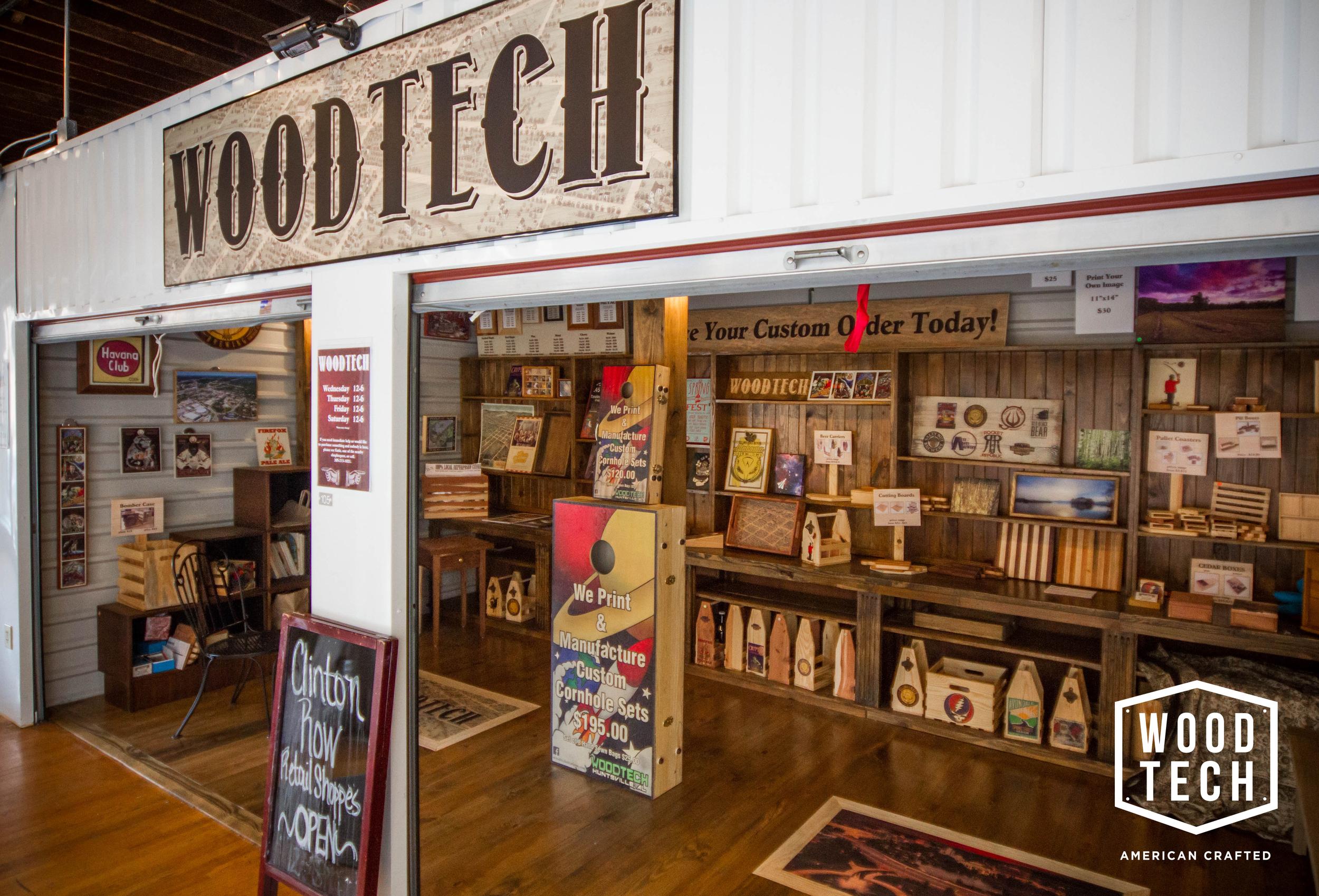 Woodtech Showroom Jefferson Street
