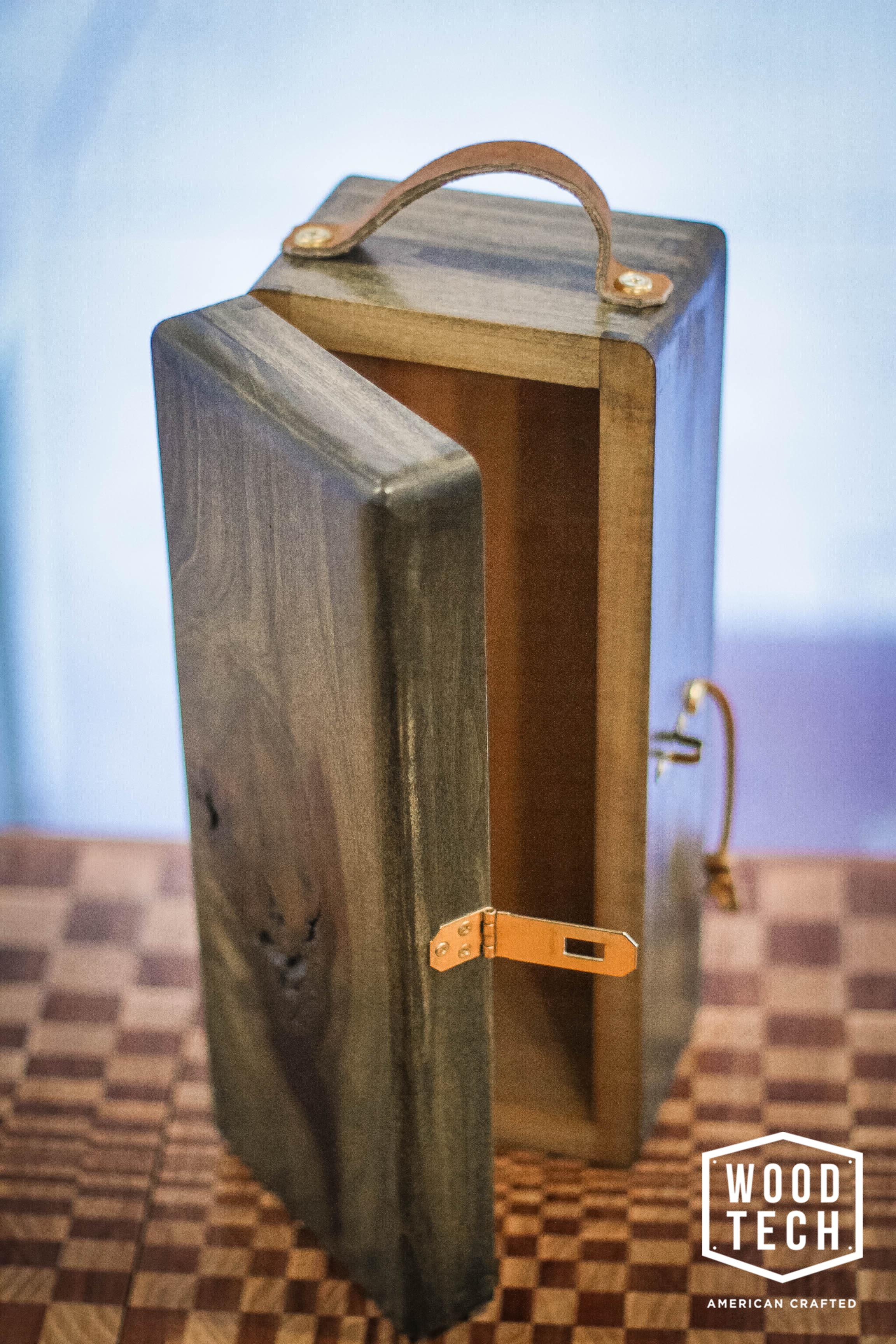 Custom Wooden Liquor Bottle Box