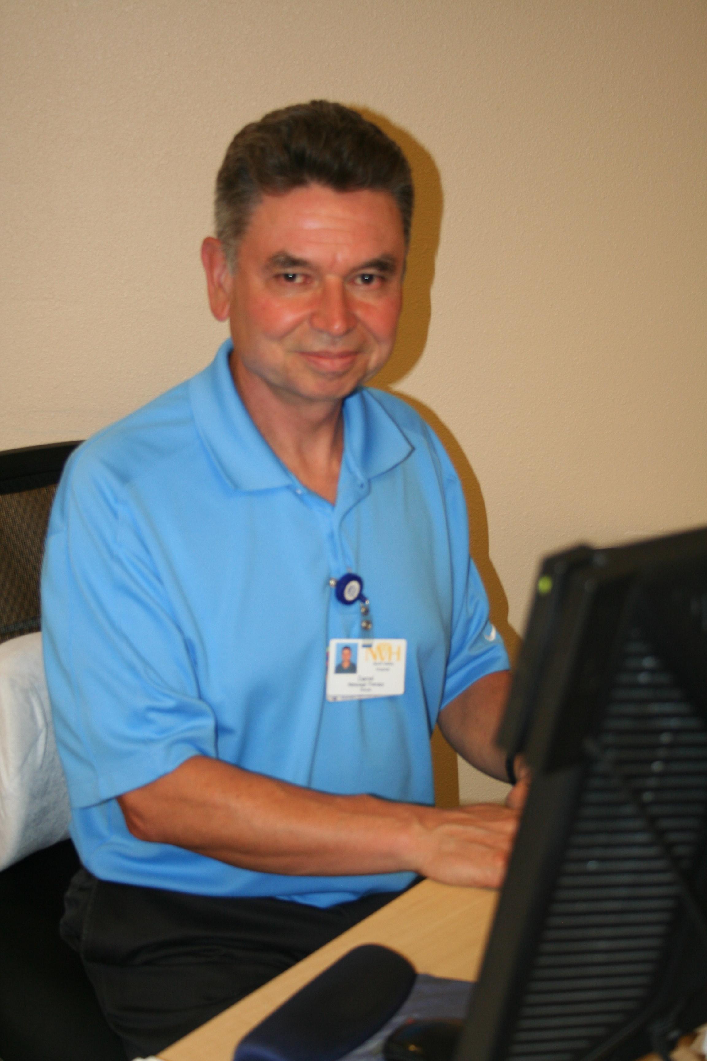 Darrel, Massage Therapist