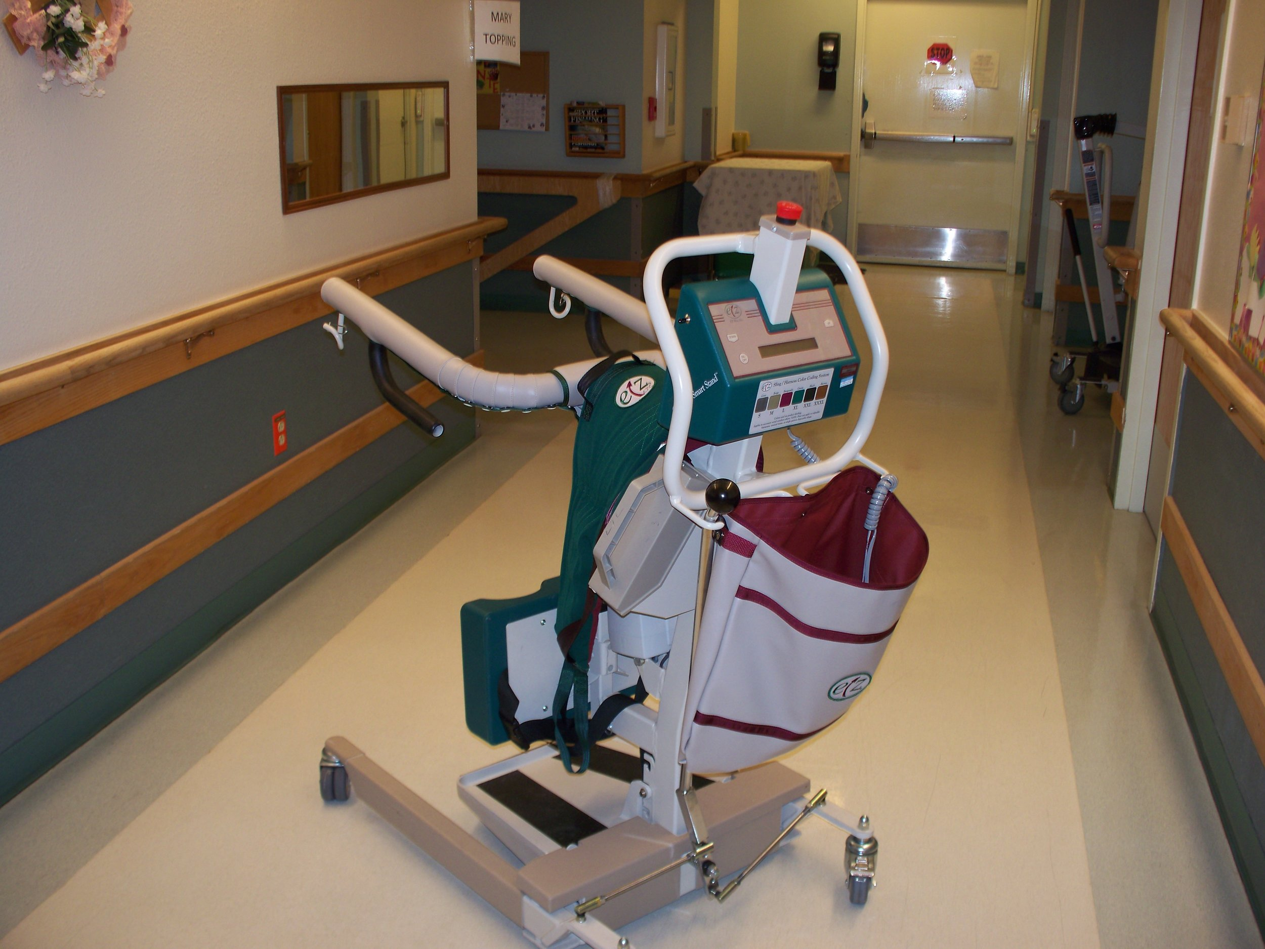 A lift donated to Extended Care