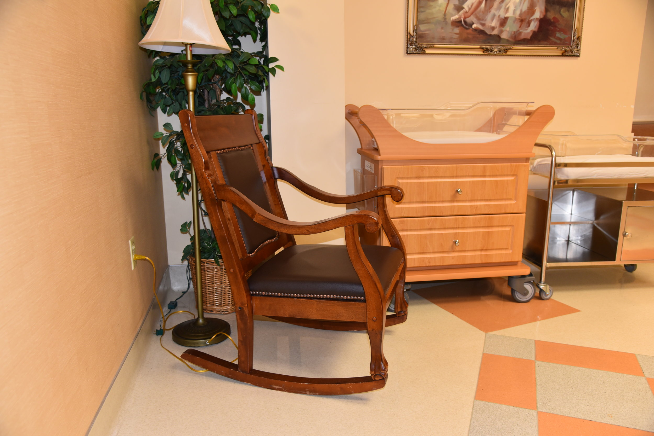 Rocking Chairs Donated to the OB