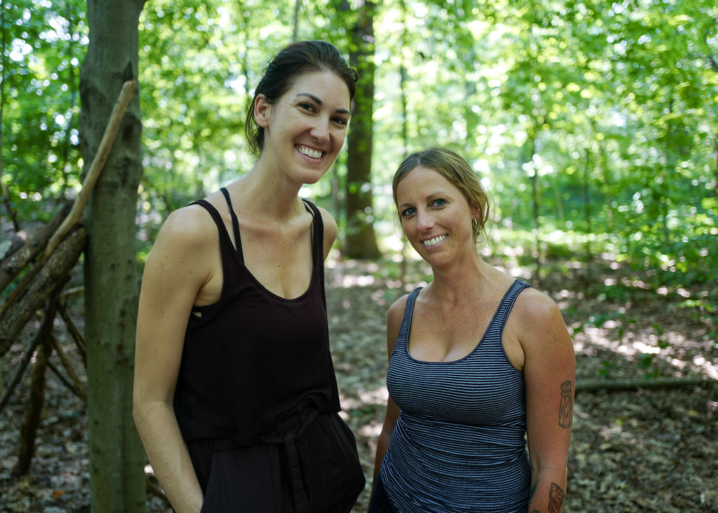 Founders of  Cattail Nature Collective ,Valerie Lockhart and Alicia Hedgecoth  Photo by Torz Dallison Photography