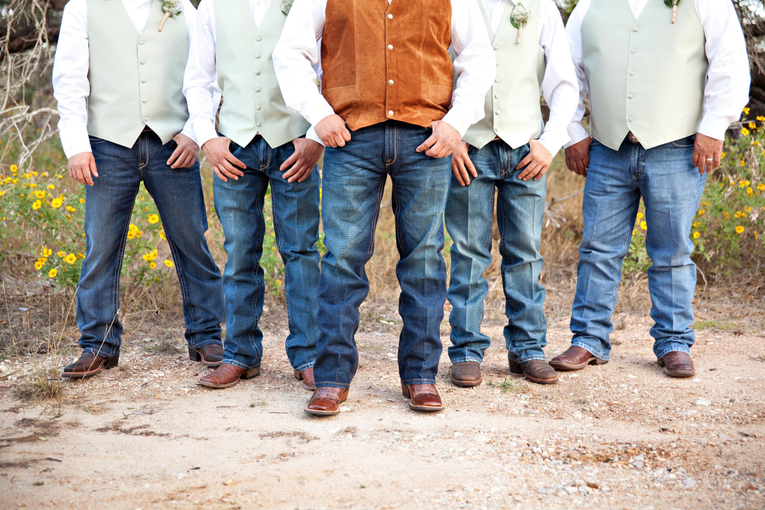 San Antonio Wedding Photography Groomsmen