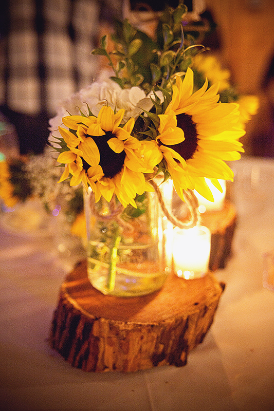 San Antonio Wedding Photography Wedding Centerpiece Sunflower