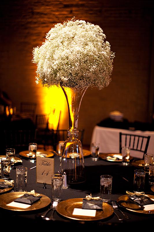 San Antonio Wedding Photography Wedding Centerpiece
