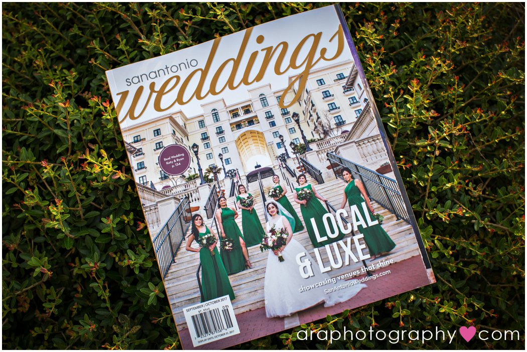 San Antonio Weddings Magazine Photography