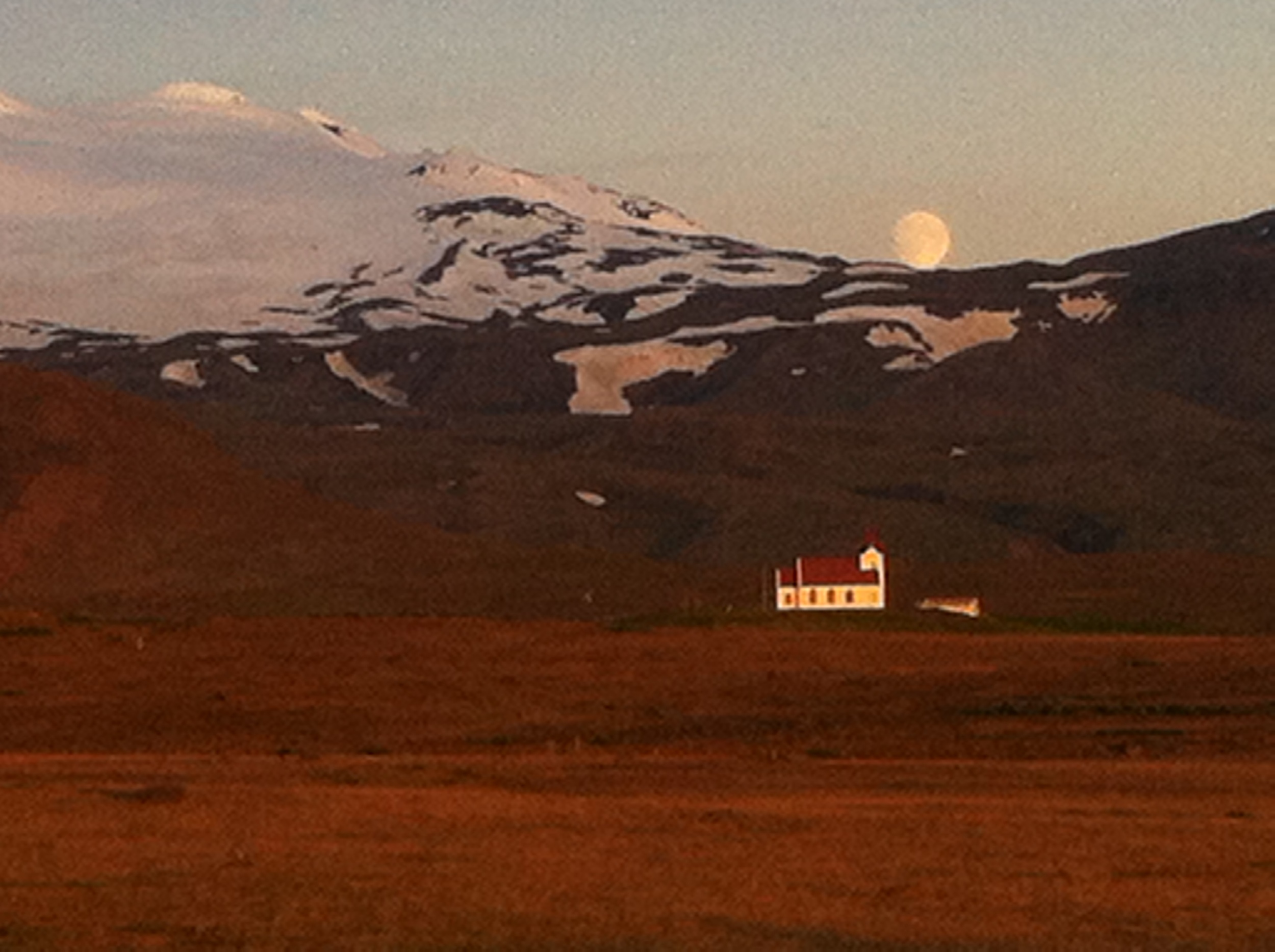 Midnight, June 21st 2013. Northwest Iceland.
