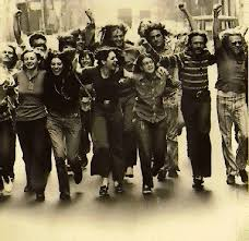 Commemorating the Stonewall Riots, 1969- photo from http://www.glaad.org/
