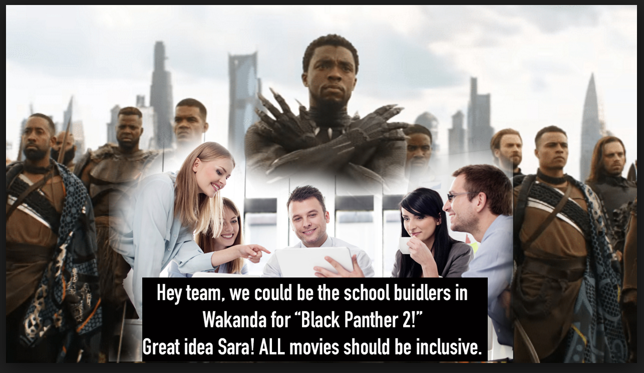 Wakanda is fine on its own! Don't ruin it, Sara!