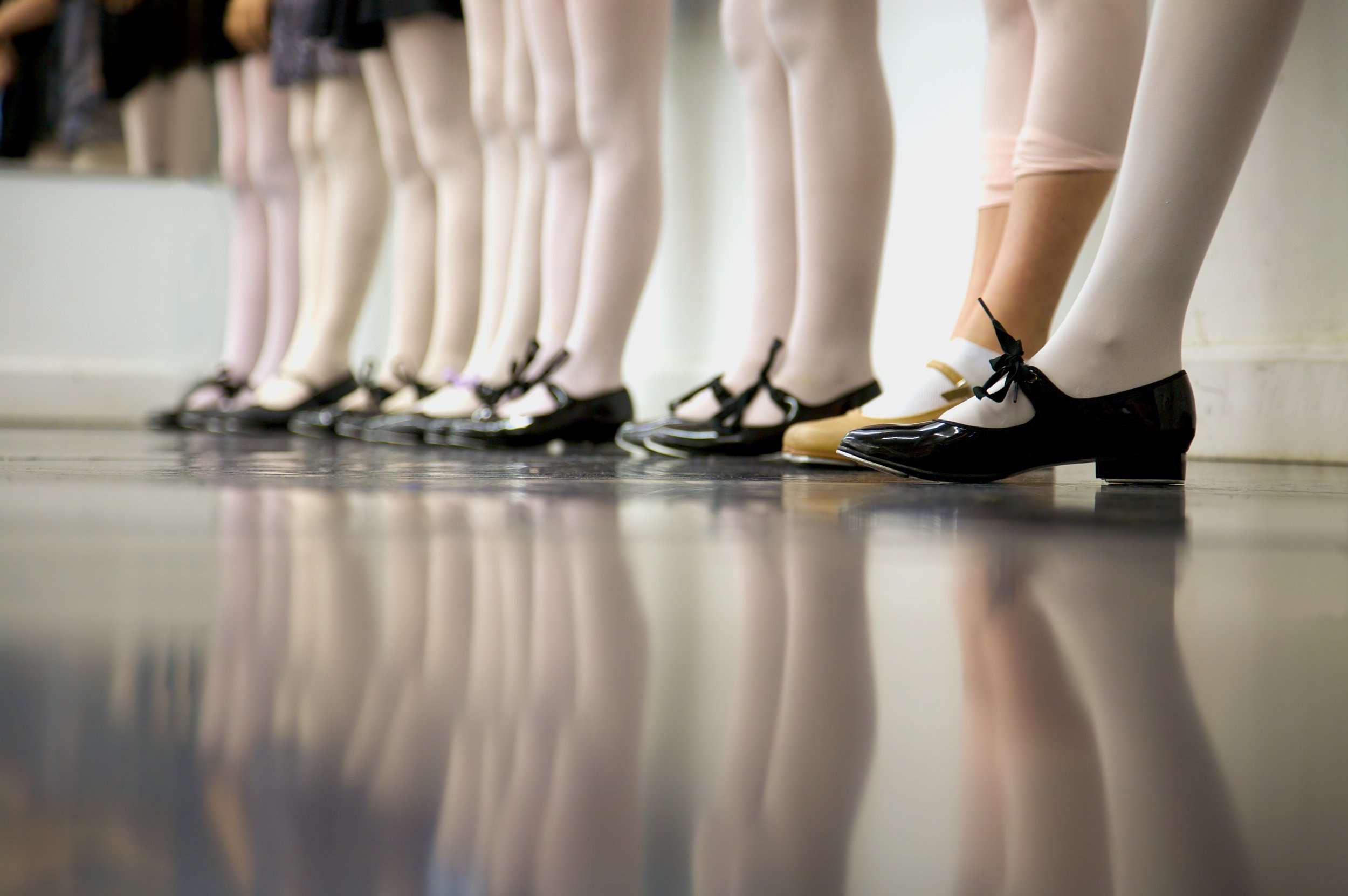 Let's Get Tapping - Start tapping your toes (and heels) this fall!