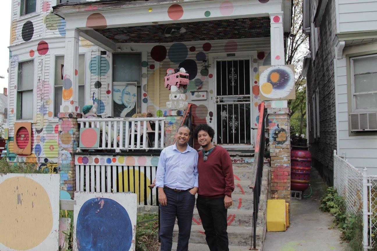 The Havana-Detroit connection: Ilmar and Aldo.