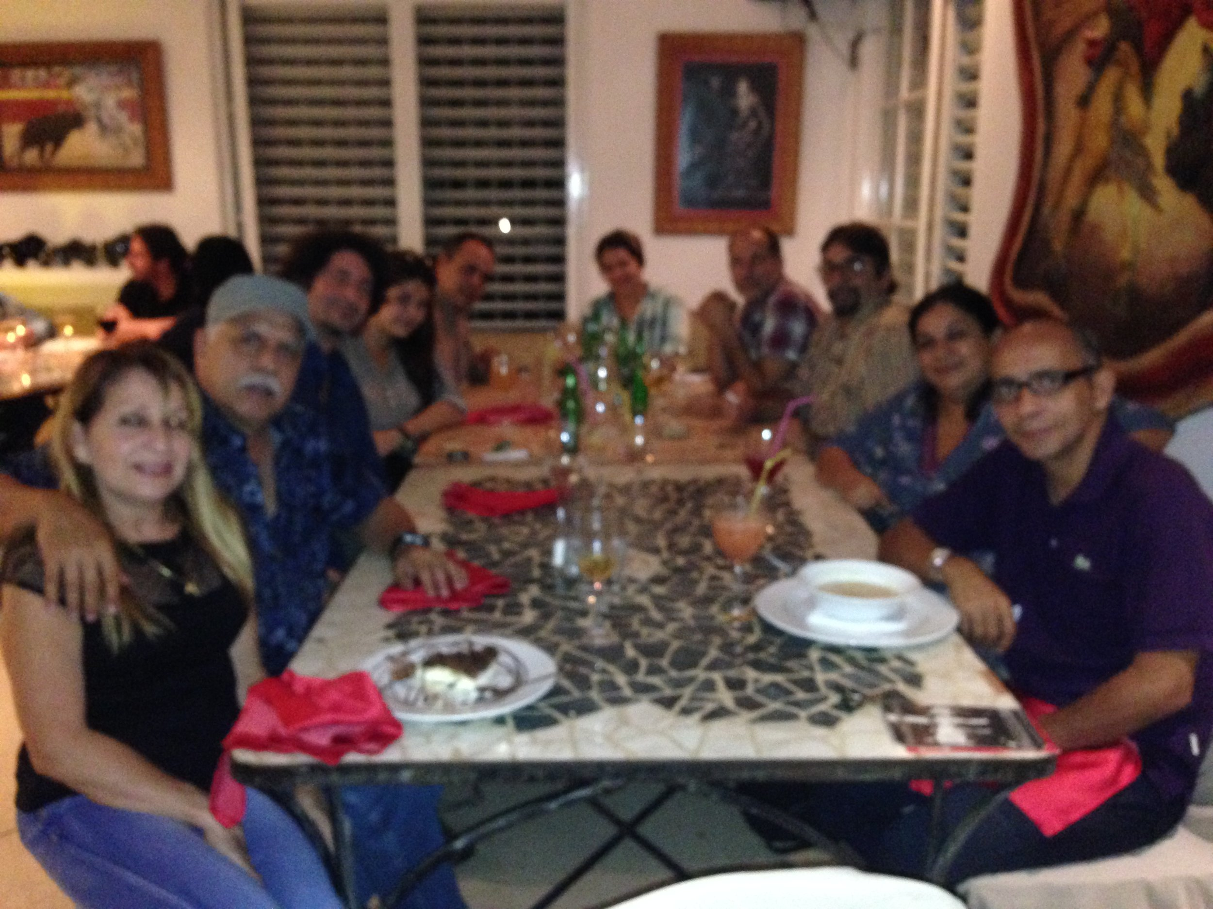 The Cuban crew.