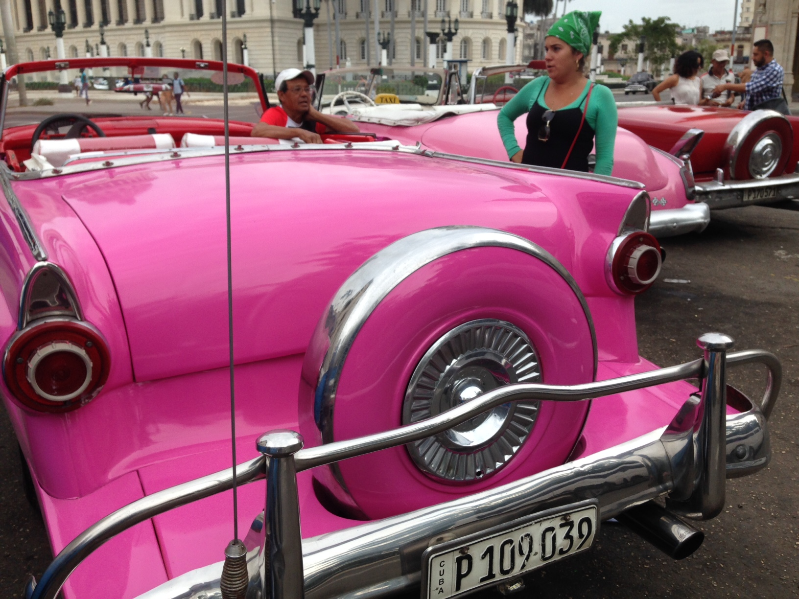 Old cars, new Havana.