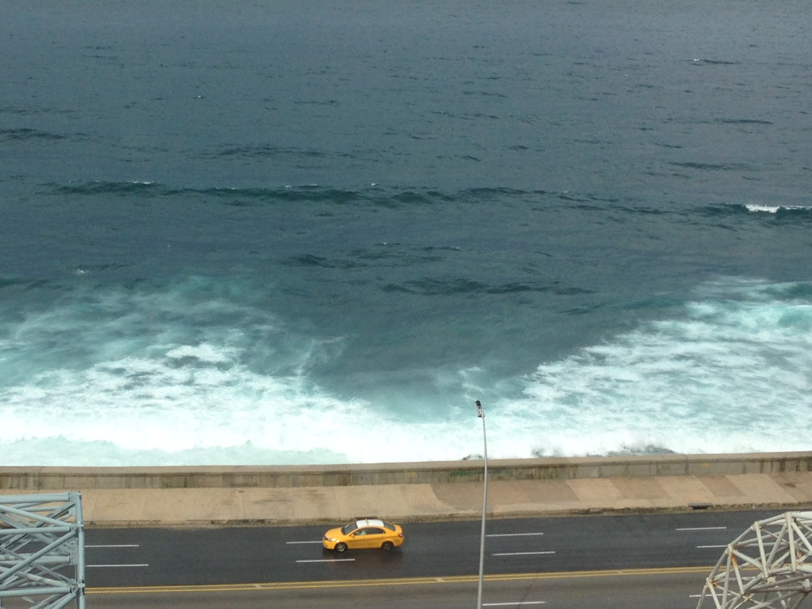 Havana's dramatic sea wall.
