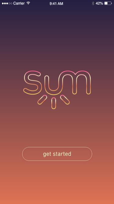 SUM Money Management app