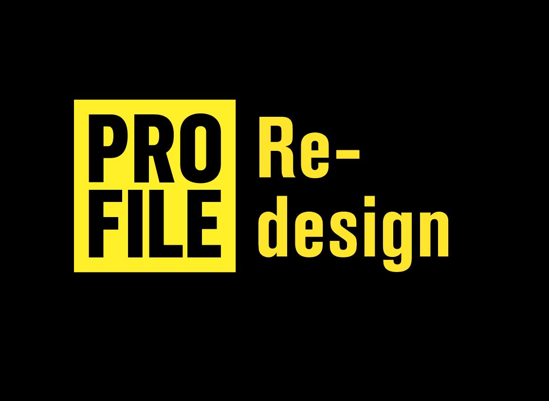 Profile Magazine Redesign