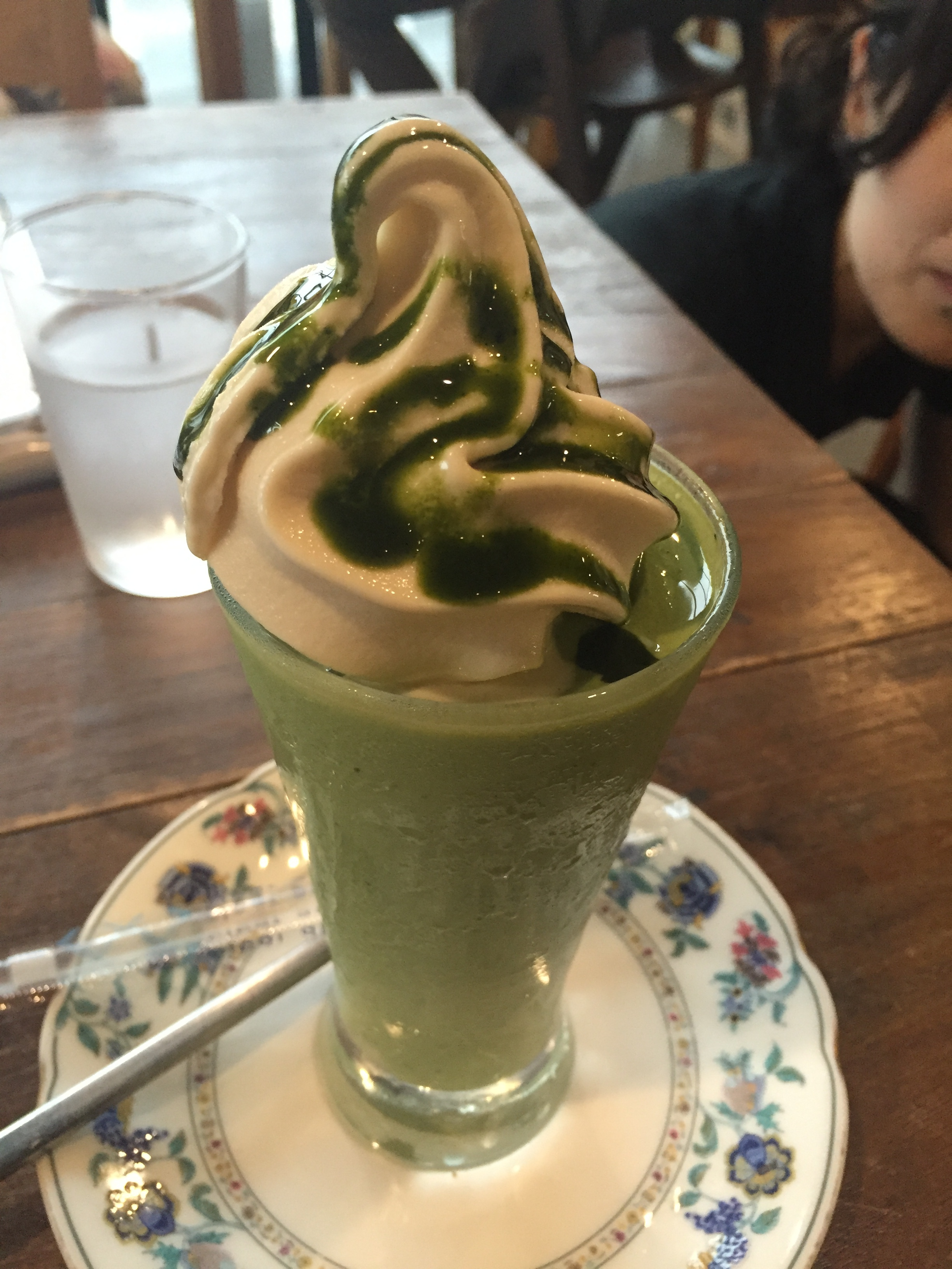 soy milk soft serve 100% vegan and gluten-free in Kyoto Japan