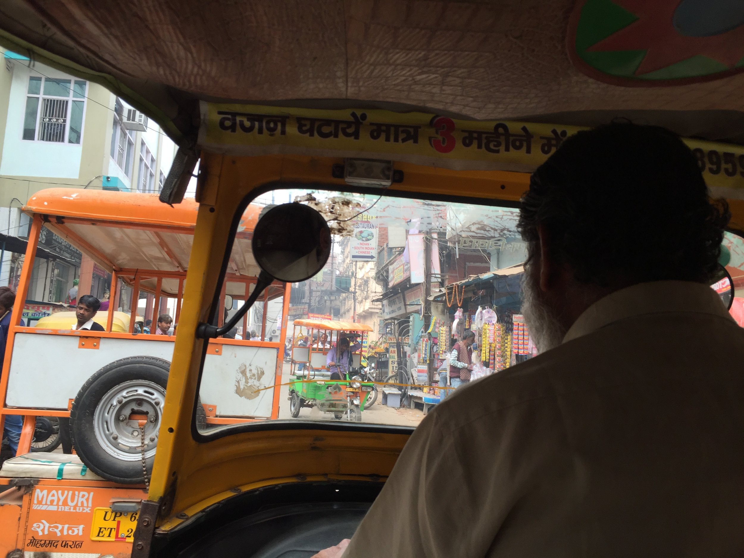 Rickshaw drivers in India, How to Stay Safe as a female solo traveler