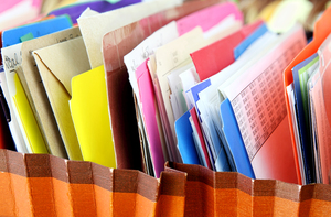 What if someone needed to find something in your filing system? Could they?