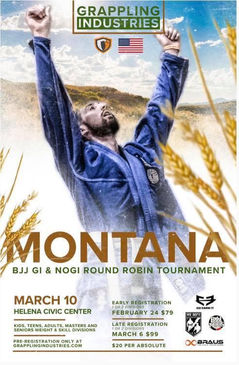 Grappling Industries Montana Tournament