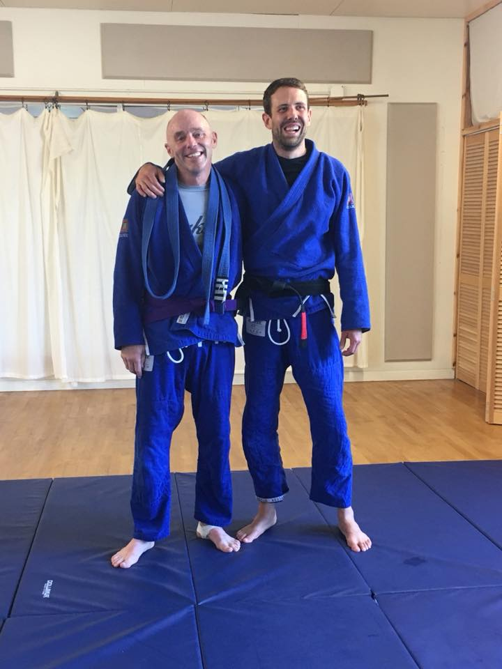Our First Purple Belt!