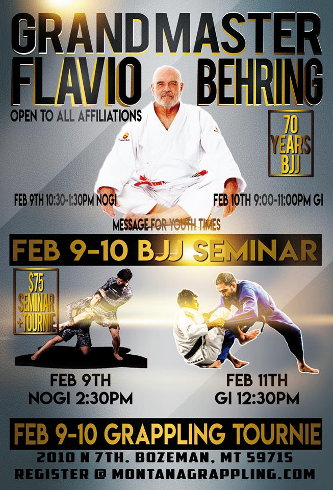 Grandmaster Flavio Behring putting on a clinic and no-spectator tournament.