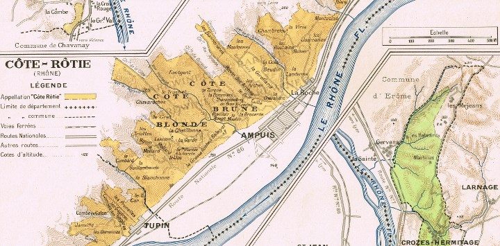 Lieux-dits  of Cote-Rotie - learn more  here.
