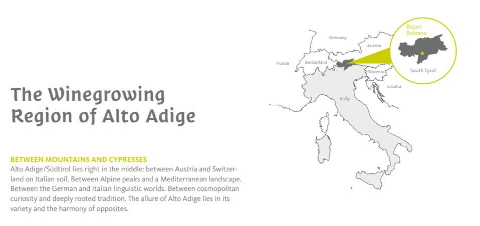 Courtesy of  Alto Adige Official Website