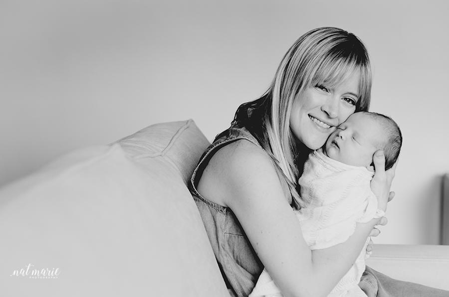 Scottsdale, AZ In-home Lifestyle - Newborn Photographer - Authentic Photography