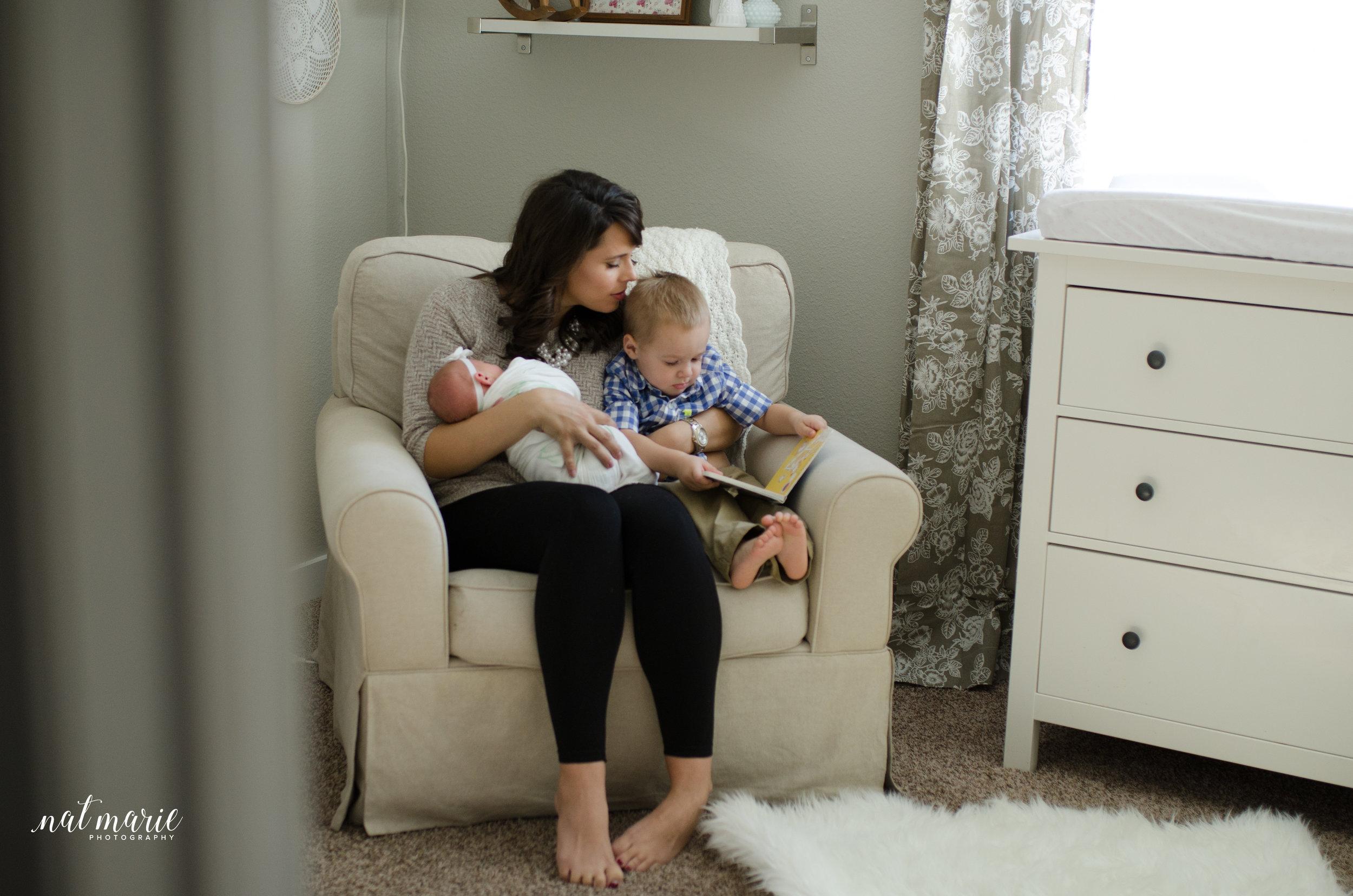 Scottsdale, AZ In-home Lifestyle Newborn Photographer - Light & Airy Photographer